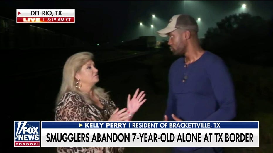 Texas resident says the border 'has never been closed,' despite Biden administration's claims