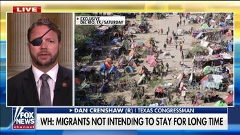 Dan Crenshaw slams Biden for 'egregious dereliction of constitutional duty' as border crisis continues