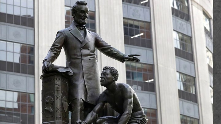 Boston to remove statue of freed slave kneeling before Lincoln