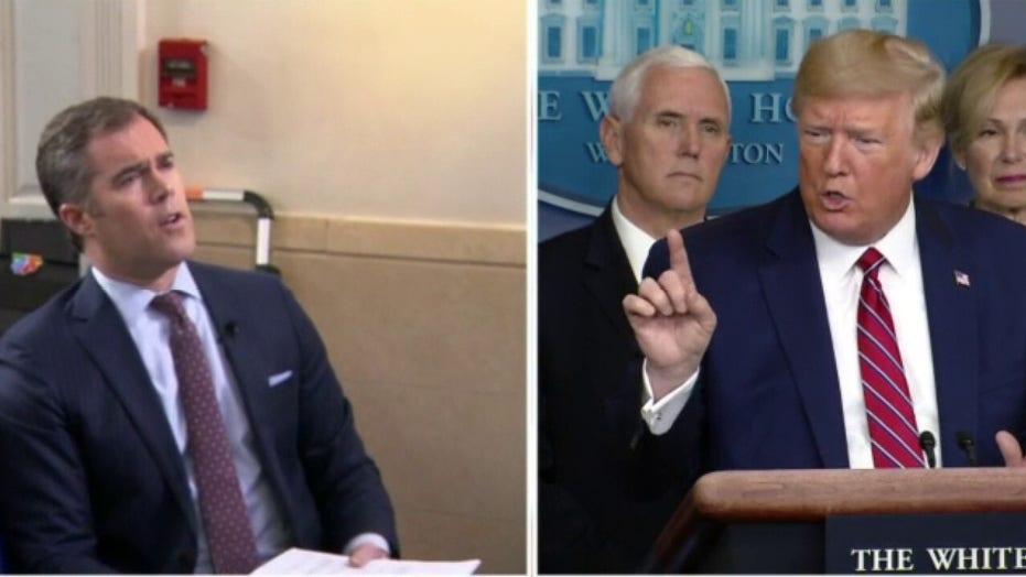 Trump rips NBC 'Concast' correspondent: 'You're a terrible reporter'
