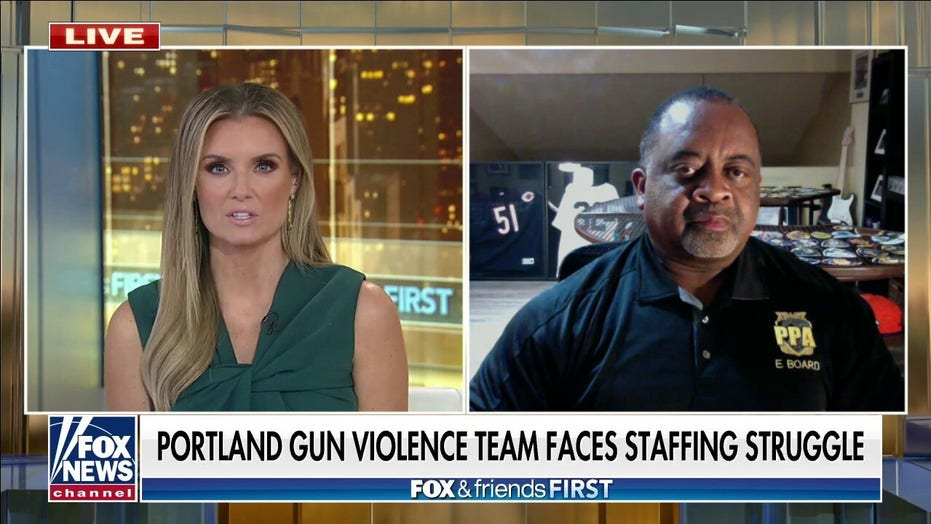 Portland struggles to find officers for gun violence unit: Union rep slams city's liberal leaders
