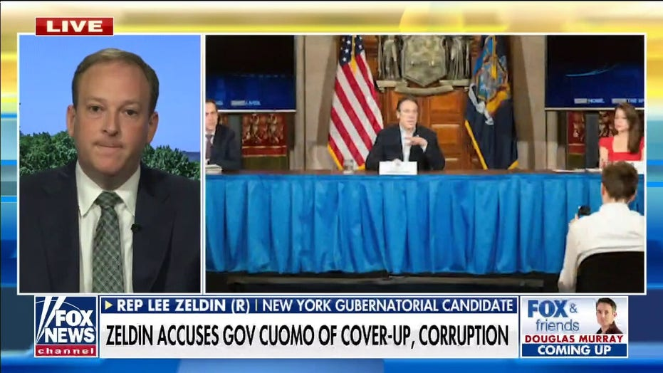 Zeldin: Cuomo not 'out of the woods' from 'deadly nursing home cover-up'