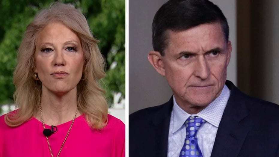 Kellyanne Conway says the 'fix was in' by the FBI to set up Flynn