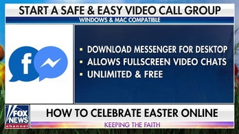 How to safely celebrate Easter at home and online