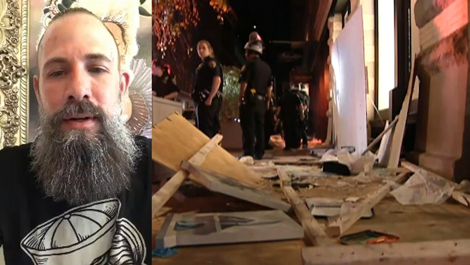 SoHo tattooist finds his shop torn apart while NYPD back down and allow destruction