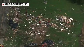 Deadly storm tears through North Carolina
