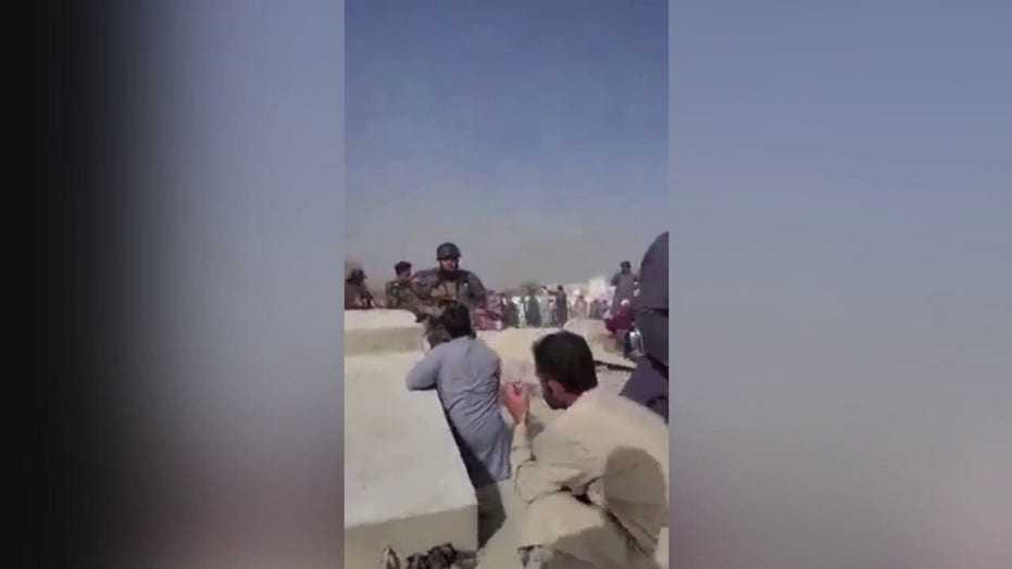 Taliban fire at Afghans celebrating Independence Day, videos show