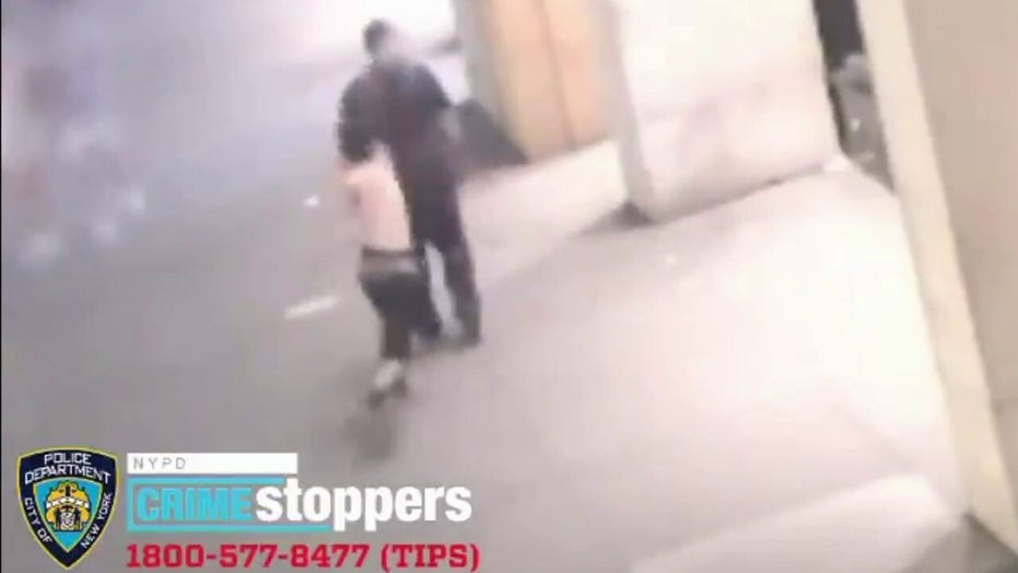 NYC man doused with caustic liquid in ambush attack caught on video