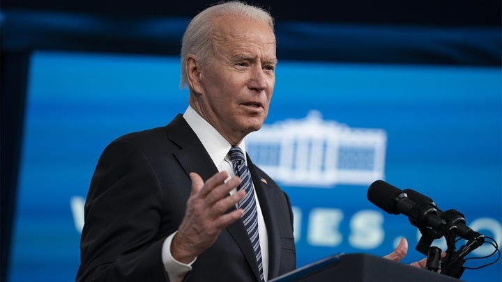 Biden meets with House Dems to push infrastructure bill