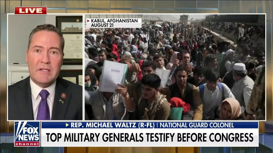 Rep. Waltz torches Biden over 'Grand Canyon-sized gulf' with military commanders