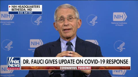Dr. Anthony Fauci: We have a 'hint' of positive evidence on anti-malaria drug