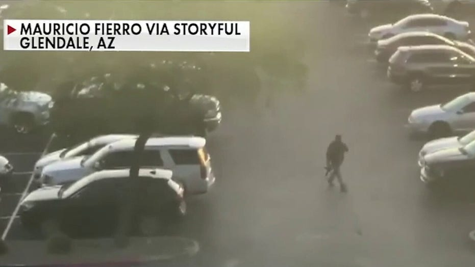 Three wounded in shooting at Arizona shopping center, suspect in custody
