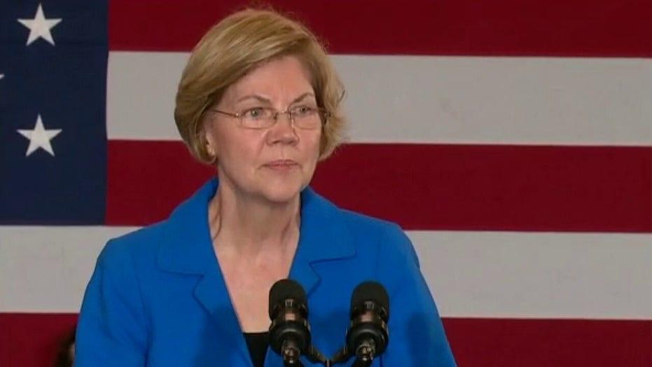Sen. Elizabeth Warren compares her career to President Trump