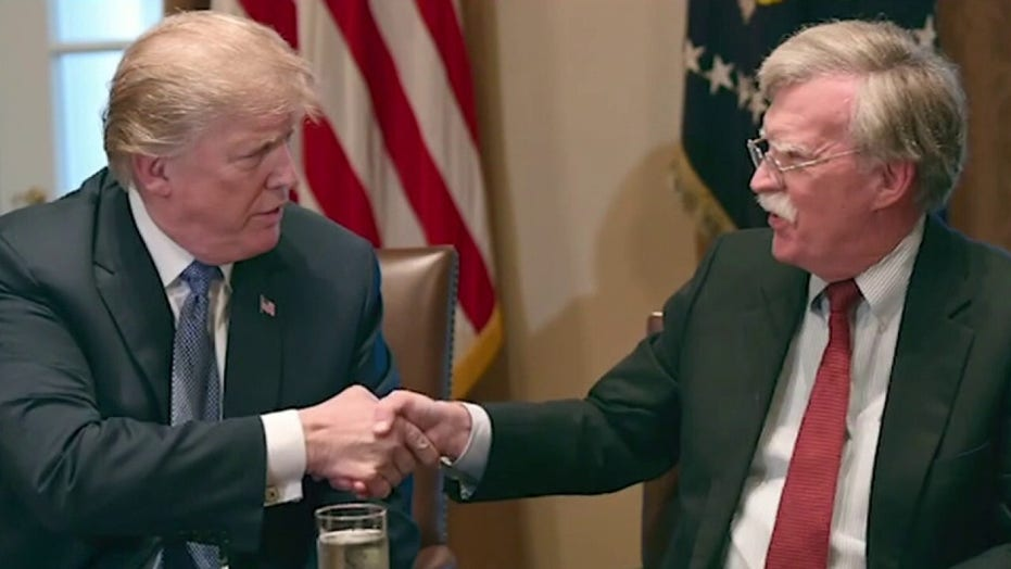President Trump fires back at John Bolton over book