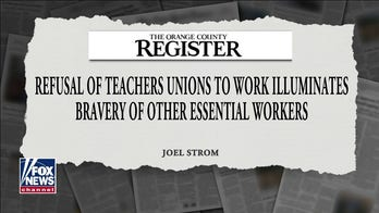 Teachers unions slowing returning to the classroom