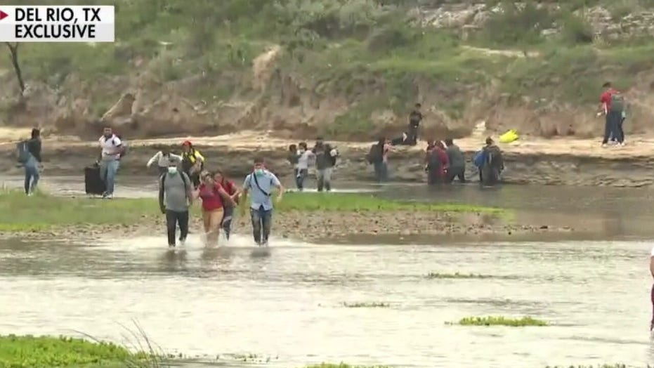 Exclusive video shows surge of illegal immigrants; 'The Five' react