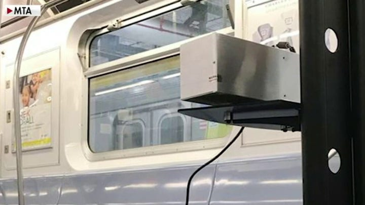 Doctor spearheading effort to use UV light to disinfect NYC subways joins 'The Ingraham Angle'