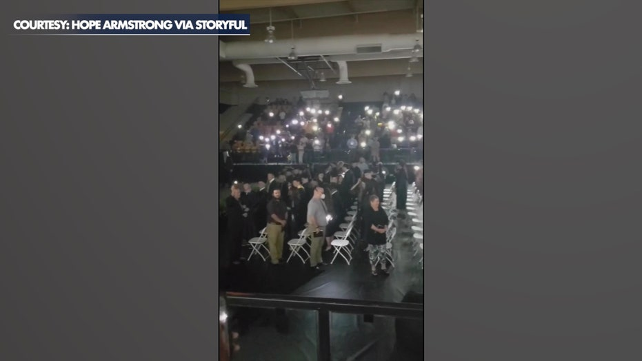 Texas high school's graduation ceremony saved by phone flashlights after power outage