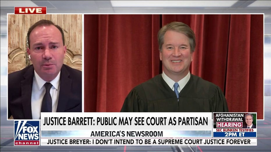 Sen. Mike Lee: Court-packing would reverse 'central feature' of Constitution