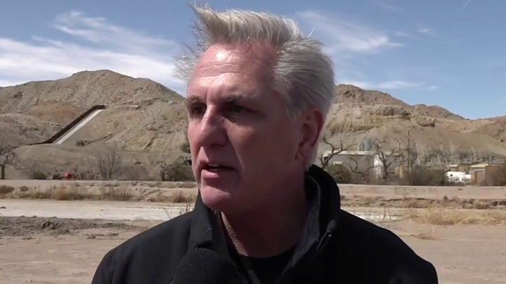 McCarthy: We have 'human heartbreak' at southern border