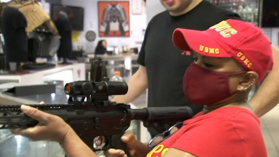 California firearm purchases surge due to pandemic-related concerns about violence