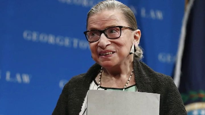 Fight over ObamaCare back in Supreme Court as Justice Ruth Bader Ginsburg participates from hospital