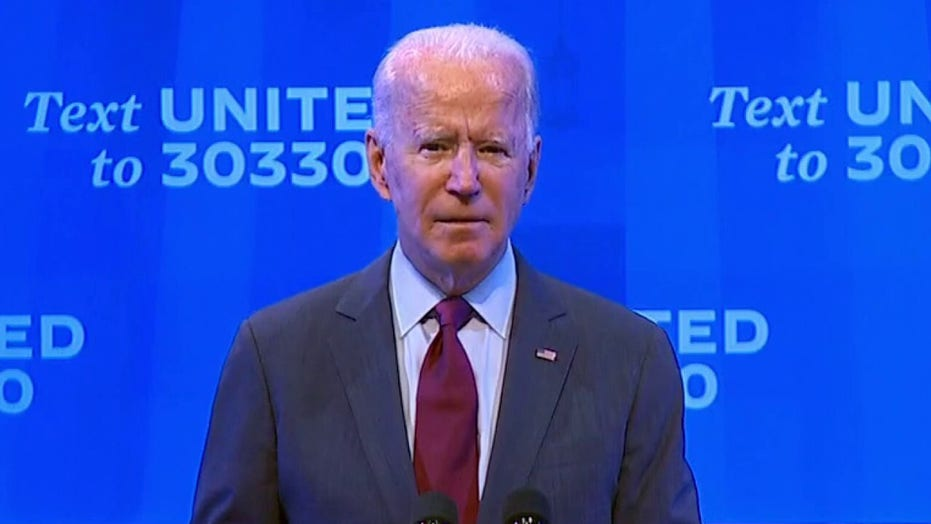 Joe Biden addresses Supreme Court vacancy