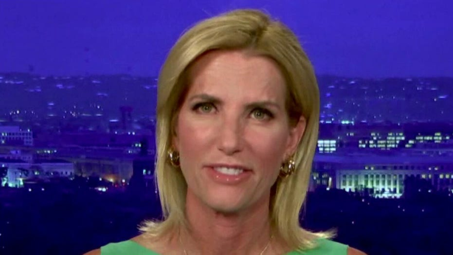 Ingraham rips Biden for 'pathetic drive-by smear' of Trump after career of 'rubber stamping' foreign wars