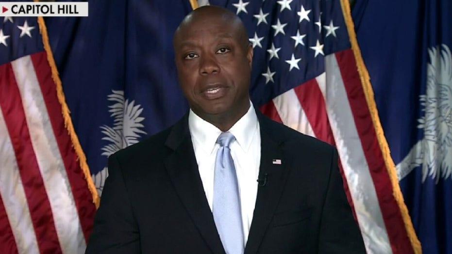 McEnany: Sen. Scott's rebuttal to Biden's joint address highlights 'the future' of GOP party