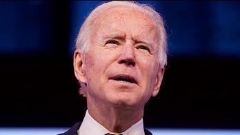 Liz Peek: 10 New Year's resolutions for Biden