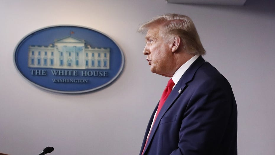 President Trump updates emergency response to Isaias, sees encouraging signs in fight against COVID