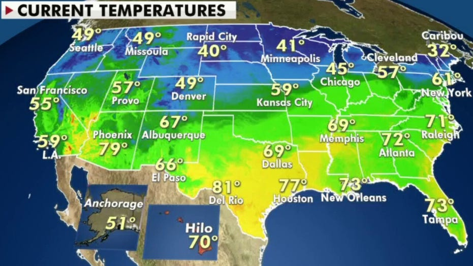National weather forecast: Severe storm threat remains while East to cool off over Memorial Day weekend