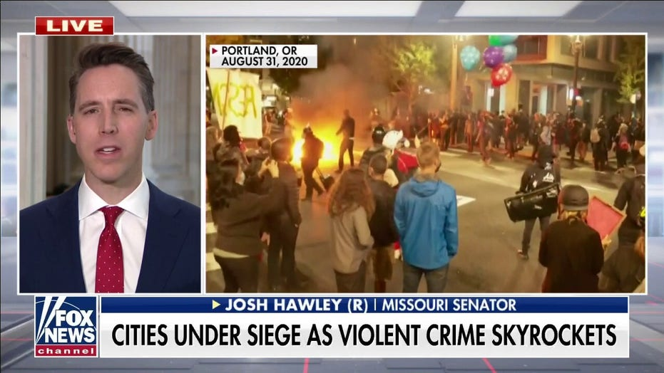 Josh Hawley on 'America's Newsroom': We need more cops on the street as violent crime skyrockets