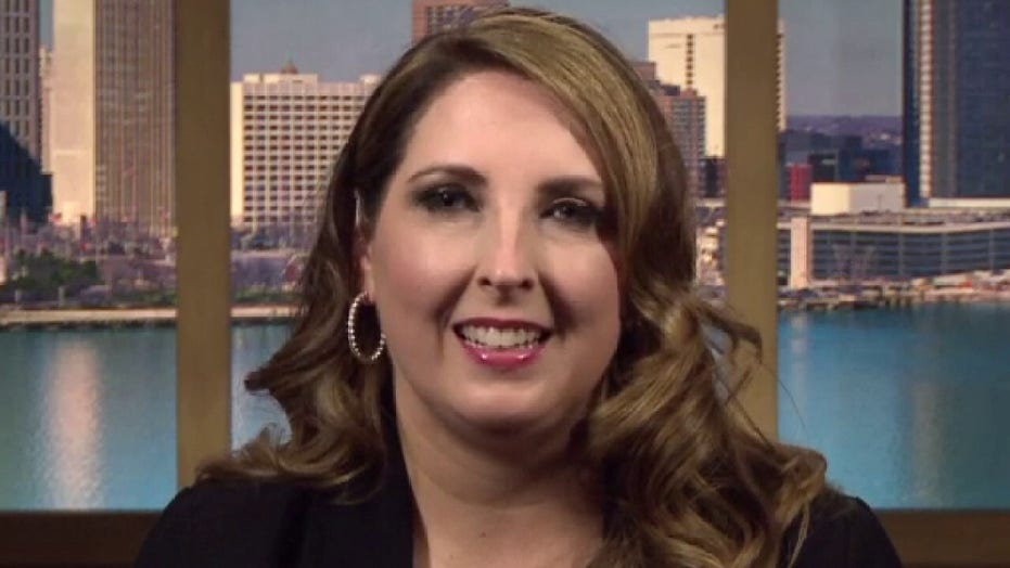 RNC chairwoman says hide and seek strategy won't work for Joe Biden