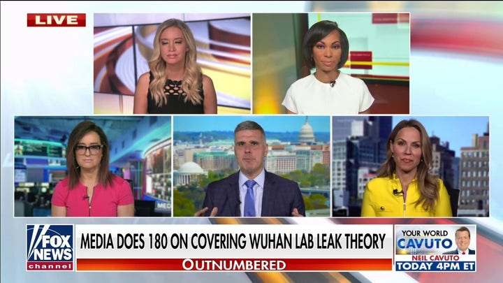 'Outnumbered' slams media for 180 on Wuhan lab leak theory