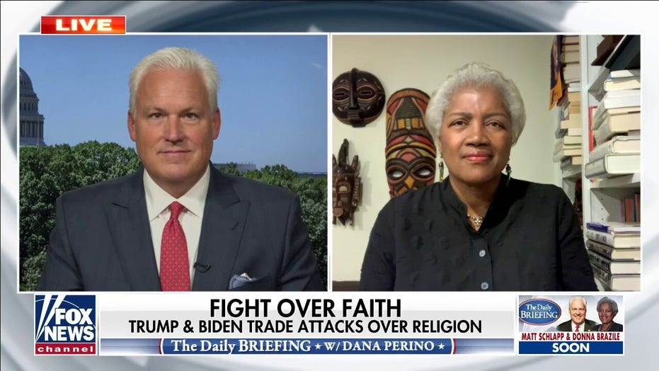 Fight over faith: President Trump, Joe Biden trade attacks over religion