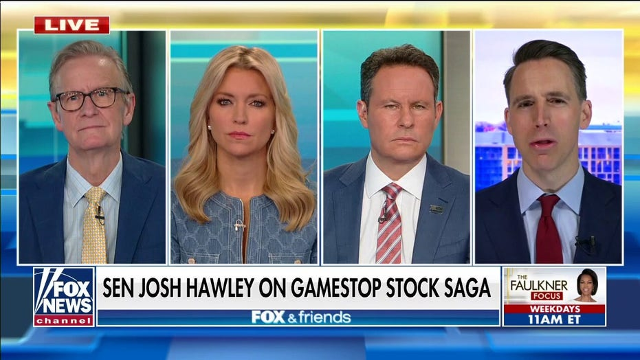 霍利: Gamestop, Robinhood saga shows 'the fix is in' on Wall Street