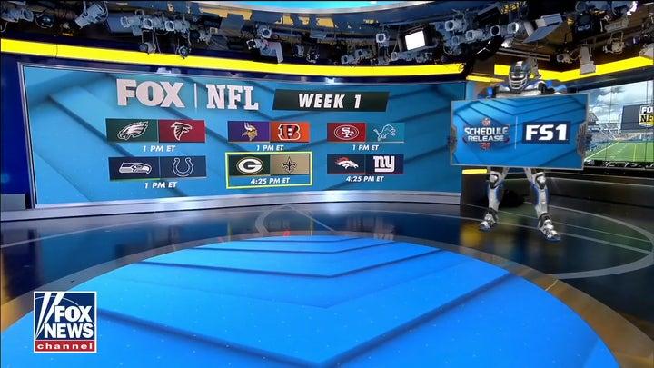 Jimmy Johnson joins 'Fox & Friends' to reveal FOX NFL Week 1 schedule