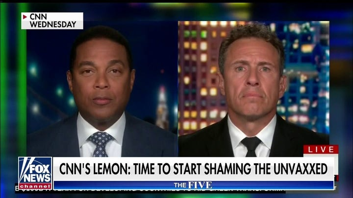 'The Five' shreds Don Lemon's comment that it's time to shame the unvaccinated