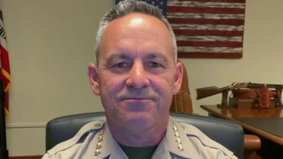 California sheriff says he can't enforce coronavirus orders making 'criminals' out of business owners