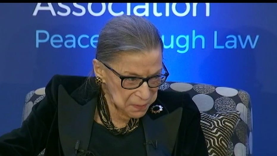 Ruth Bader Ginsburg resting at New York City hospital after non-surgical procedure