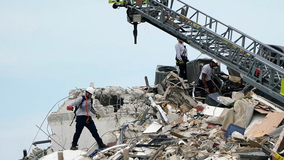 Officials provide update in the Surfside condo collapse recovery efforts