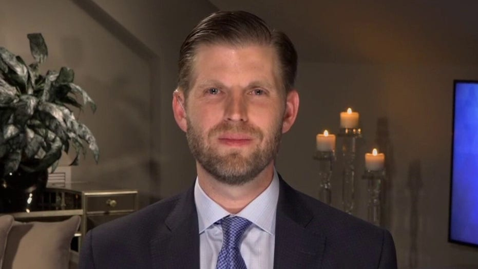 Eric Trump: Democrats trying to milk COVID-19 crisis for everything they can