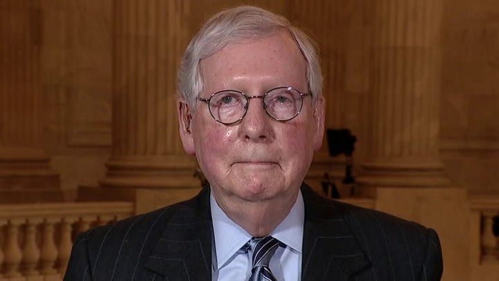 Mitch McConnell: Biden administration making it easy for GOP to unify