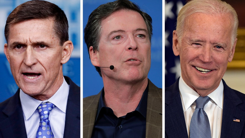 Officials who sought to 'unmask' Flynn include Biden, Comey, others