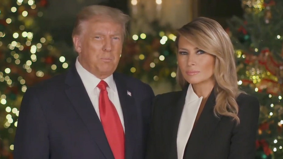 President Trump and First Lady give Christmas message