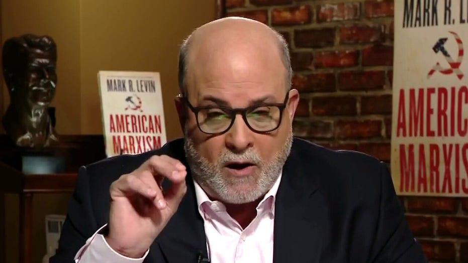 Mark Levin slams Biden for creating crises: 'He's a human pandemic'