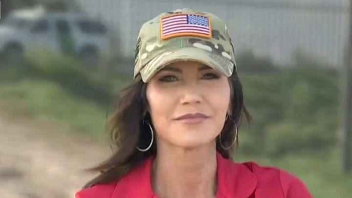Governor Noem deploys National Guard to southern border