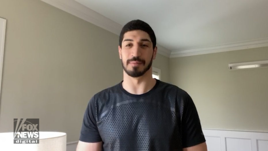NBA player Enes Kanter on how coronavirus has changed his daily routine