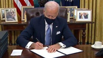 Joe Biden's first week...and impeachment